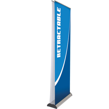 Double Sided Rollup Stand Banner Stands