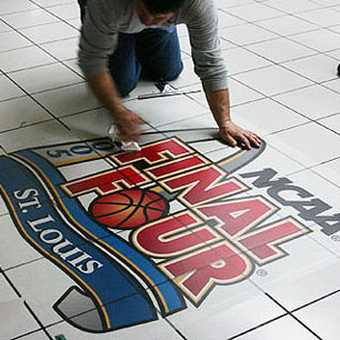 Floor Graphics Indoor Branding Ideas