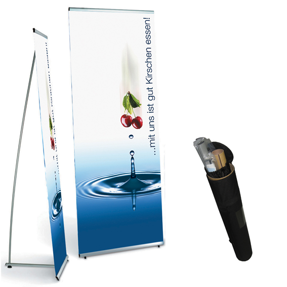 L Banner Stand Banner Stands