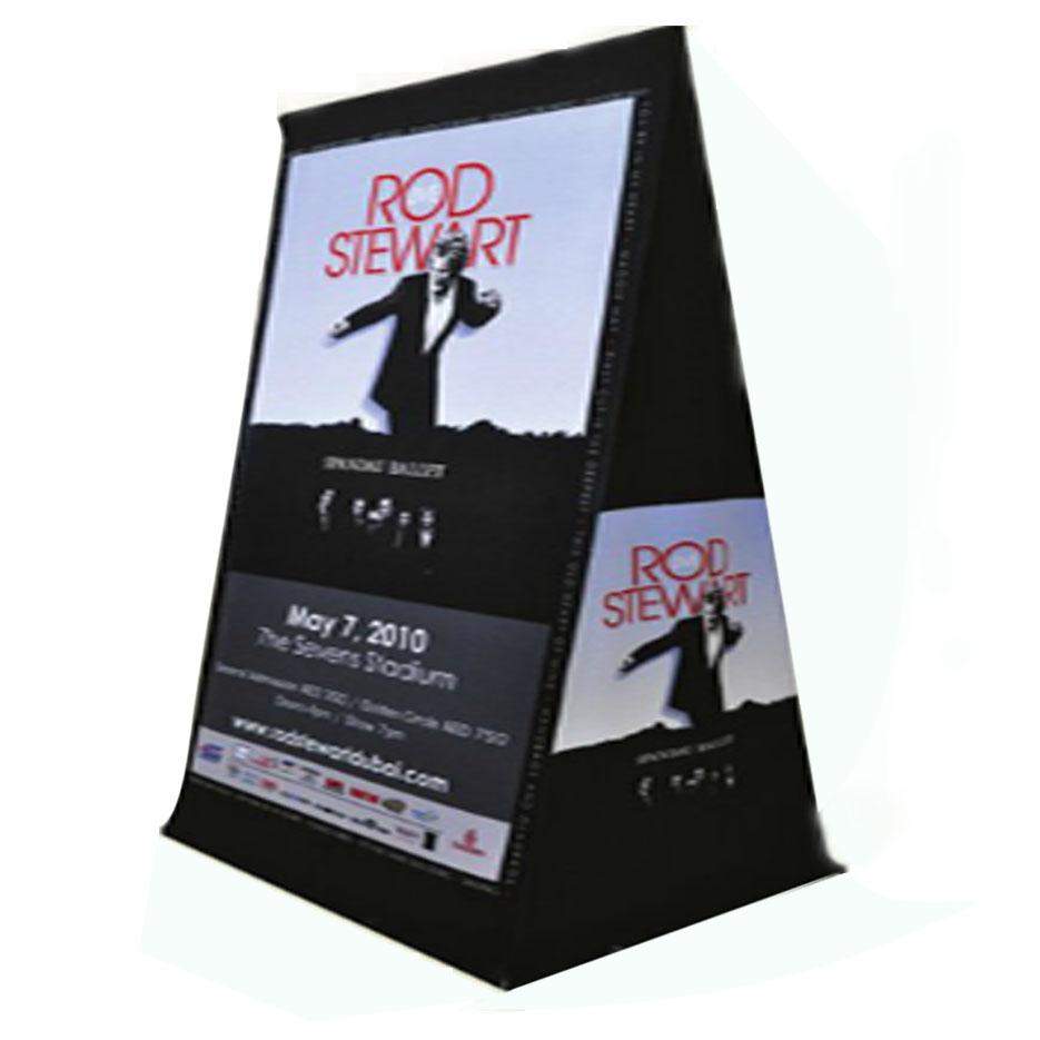 Vertical Toblerone Stand-A-Frame / A-Board