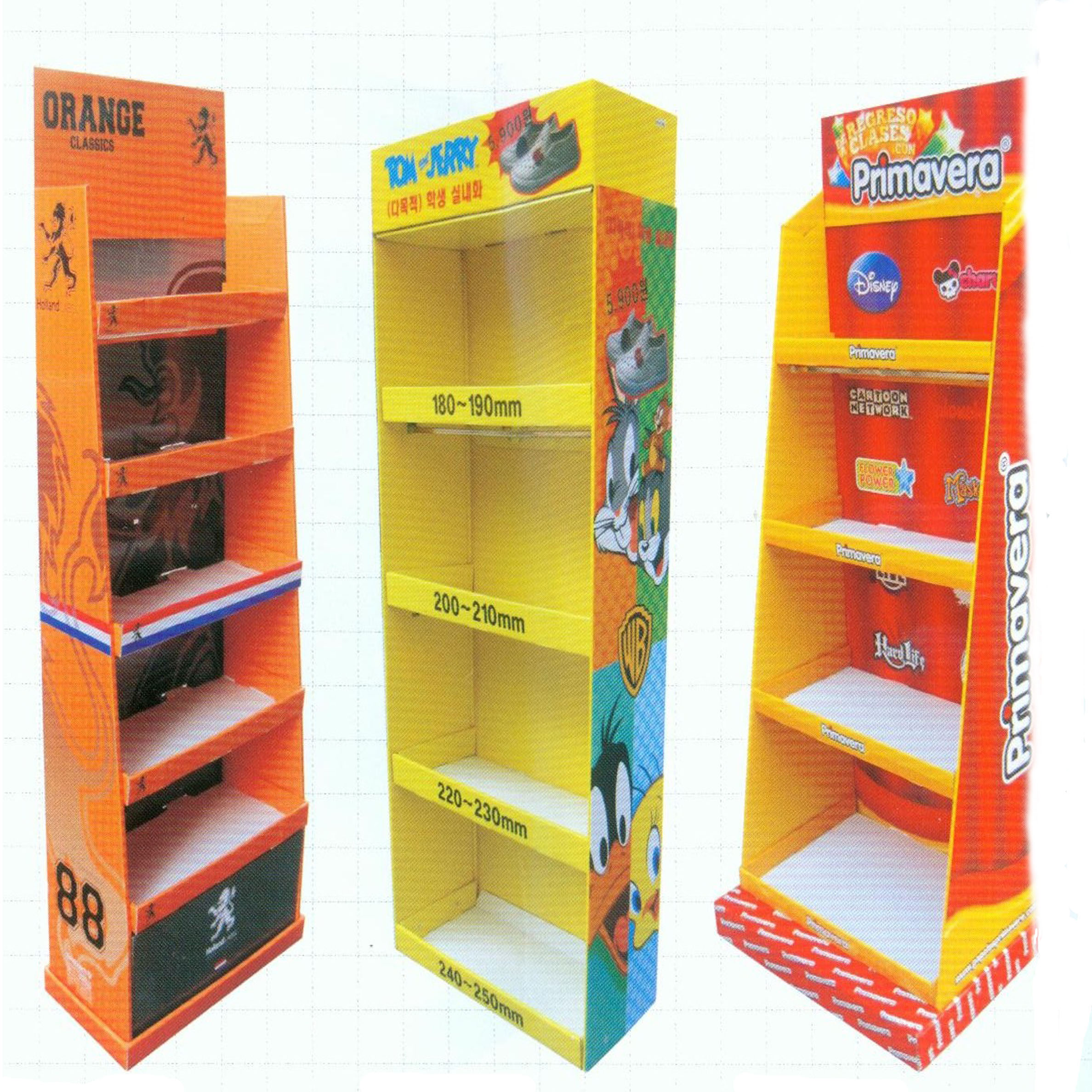 Corrugated Display Stands-Product Display Stands